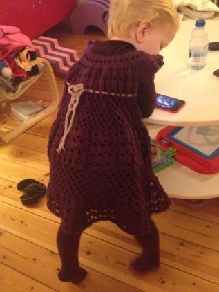 Hæklet kjole